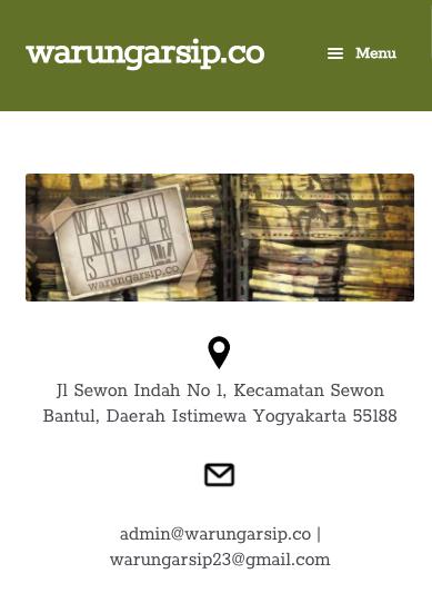 warung arsip website