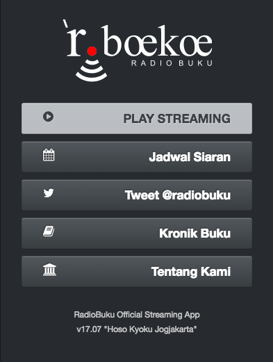 radio buku streaming app