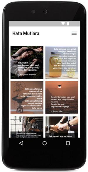 app android dari blog kata mutiara