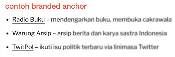 contoh branded anchor text