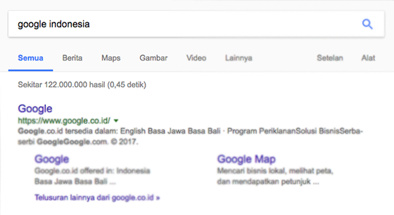 contoh search competition